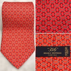 "Brooks Brothers ""346"" 100% Silk Men's Neck Tie"